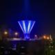 Vattentornet i blå skrud